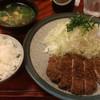 たむら亭 - 料理写真:とんかつ(ロース) 1050円