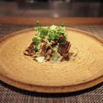 イル アオヤマ - ~ Pasta ~ 長良川・天然鮎/クレソン 加賀太きゅうり/トレネッテ☆