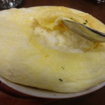 サロン卵と私 - ふっくらの中は空洞?