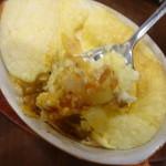 サロン卵と私 - 下からラザニア