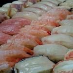 鮨 花緒 - 料理写真:旬の魚で