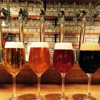 六鹿 - 国産樽生クラフトビール。道産を中心に常時7~8種類。