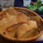 ビストロ ソラ - ②全粒粉のパン