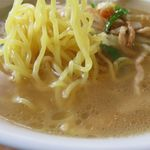同福堂 - 塩ラーメンの麺