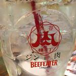 鉄板焼 やっぱ。渋谷肉横丁 - ジントニックはジンと肉(^_^;)