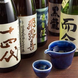 唎酒師(ききざけし)が厳選。好みの日本酒に出会えるはず!