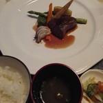 高原のホテル ラパン  - ご飯と味噌汁