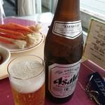 ホテルリステル浜名湖 - ドリンク写真:中瓶750円