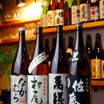 Daiyame - 焼酎80種と梅酒も種類豊富です