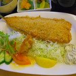 お食事処 だんらん - 秋刀魚フライ定食