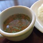 アマカラホール - スープ。