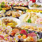 京都個室居酒屋 郷土宴座 - 【コースは種類充実&飲み放題は生ビール含200種類超!】