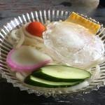 高柳食堂 - 冷やしうどん(*´д`*)350円