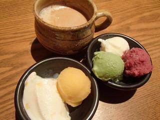 元気になる農場レストラン モクモク 名古屋JRセントラルタワーズ - ジェラート4種