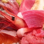 海鮮料理 みはる - 海鮮丼(御前崎) 1,500円