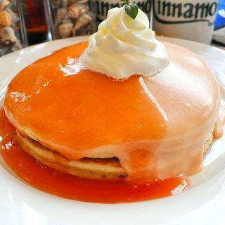 【ハワイ発のパンケーキ】
