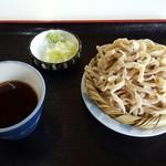 美山亭 - 料理写真:201607手打そば もり\750
