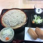 瑳山 - 稲荷セット 830円