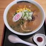 金ちゃん - 味噌ラーメン700円。