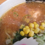 金ちゃん - スープの感じ。