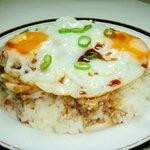 福家 - 料理写真:焼き豚玉飯 580円