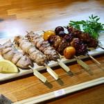 串と刺身 さんびょうし - 料理写真