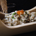 和創dining 和ん - 竹筒山菜おこわ