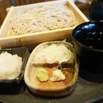 札幌蕎麦 き凛本店 - 薬味、つゆ