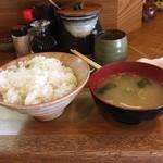 54114258 - ご飯と味噌汁