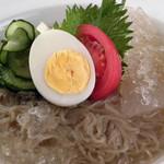 オモニ別邸 松山カルビ - 韓国冷麺
