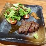 いまむら - A5仙台牛のステーキ