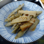 54116541 - 「鹿野とんかつ定食」煮物