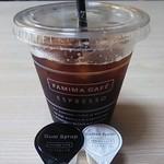 ファミリーマート  - ドリンク写真:アイスコーヒーSサイズ100円