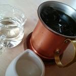 黒んぼ食堂 - アイスコーヒー。