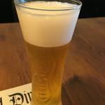 ヴィレッジヴァンガード ダイナー - ランチビール250円