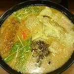 バガボンド丸 - 豚骨ワンタン麺