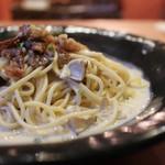 Pasta クオーレ - 和牛肩ロース肉と旬のきのこのポルチーニクリーム☆
