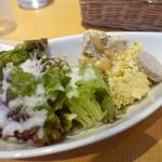 ビストロ やまごや - 前菜サラダ