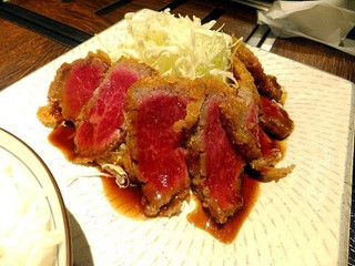 山形山 月島店 - 山形牛の牛カツ定食