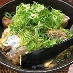 糀屋 - スジ玉丼