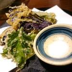 54126774 - 旬菜の天婦羅盛合せ (コース)