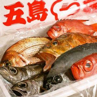 鮮度自慢の五島列島直送魚介をふんだんに使ったお料理をご提供!