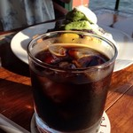 珈琲館 - アイスコーヒーを