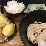 54130745 - ぶっかけ天ぷら定食