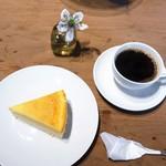 錢屋カフヱー - クラシックチーズケーキ、マンデリン No.3