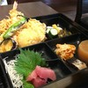長寿庵 渡邊 - 料理写真:松花堂 天ぷらやお刺身など