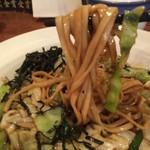 がんばり屋 - 平麺、ボリューム満点(2016.7.28)