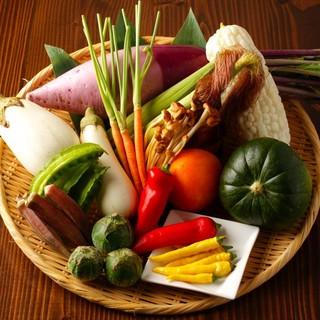 有機野菜を使います!
