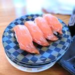 寿司居酒屋 日本海 - サーモン2皿分
