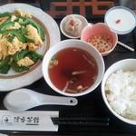 漂香茶館 - ゴーヤと玉子の炒めセット